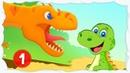 Тираннозавр Рекс ищет ребенка 1 Мультик про динозавров. Игры для детей