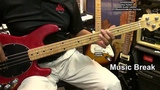 How To Play Ghostbusters Ray Parker Jr. Bass Guitar Lesson Tutorial EricBlackmonMusicHD Halloween