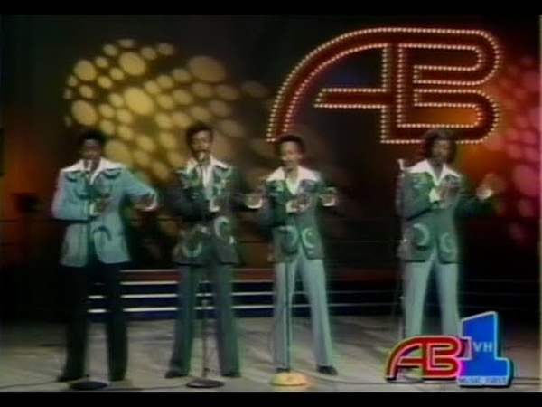 The Manhattans Kiss And Say Goodbye American Bandstand 1976 Very Rare