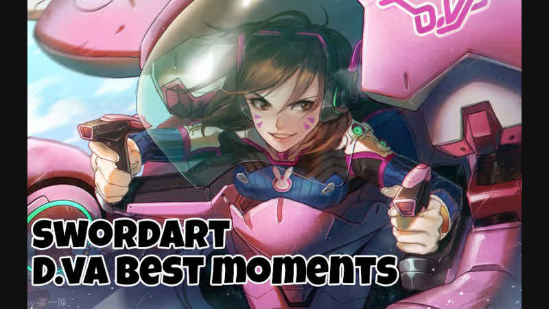 Overwatch | D.va best moments №2 Feat. Marshmello