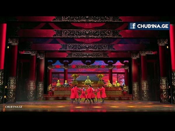 ✔ ქართველი მოცეკვავეები ჩინეთში Qartveli Mocekvaveebi Chinetshi Georgian Dance New