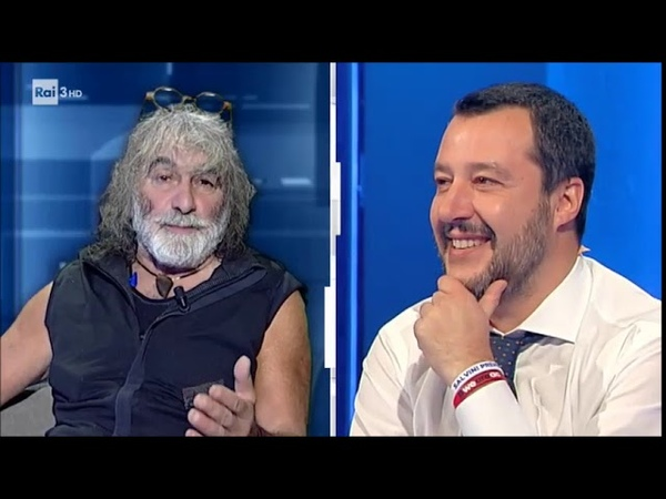 Salvini Avevo proposto a Corona di fare il Ministro della montagna - cartabianca 04122018