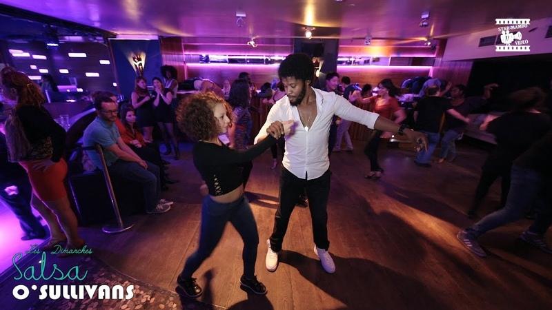 Terry SalsAlianza Ma Nou - social dancing @ Salsa OSullivans Paris