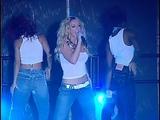 Britney Spears - Me Against the Music (Rain Palms Casino Press Pro Shot) Stock