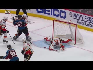 Mikko Rantanen Fires Home OT Winner To Give Avalanche Game 4 Win Over Flames