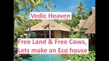 Vedic Heaven - Free Land &amp Free Cows, Lets make an Eco house