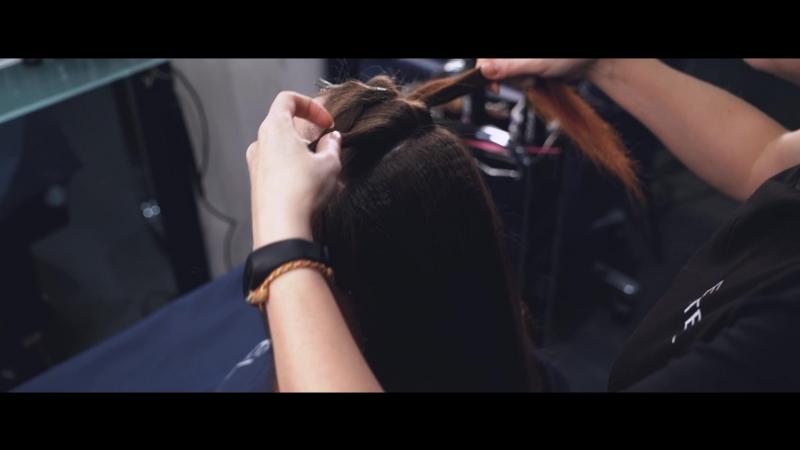 Промо-ролик семинара Прически из длинных волос. Плетение косичек
