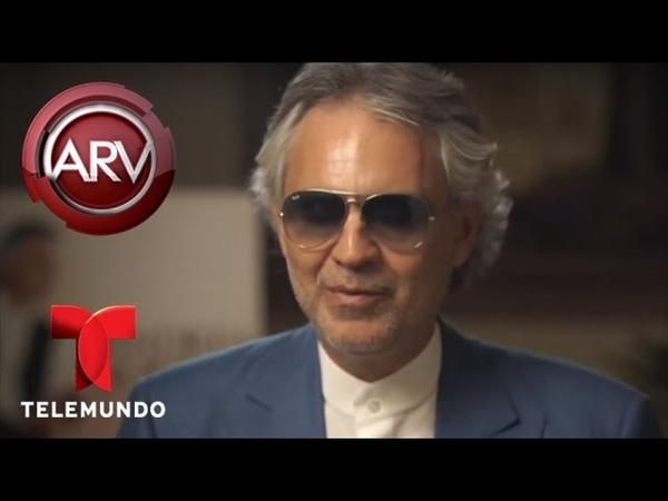 Andrea Bocelli graba en español y con Ariana Grande | Al Rojo Vivo | Telemundo