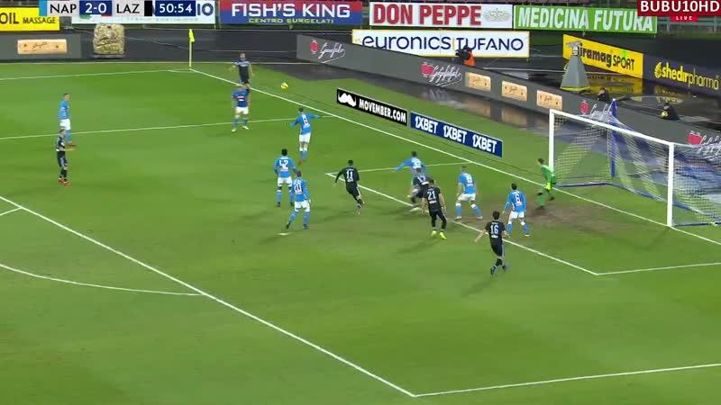 Наполи - Лацио 2-1 обзор матча 20 01 19