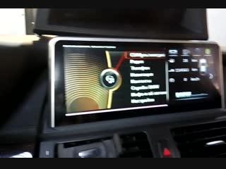 БМВ Х5 Замена штатного экрана на монитор. Андроид на БМВ Е70.