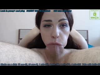 Заглатила хуй с яйцами -creampie squirt lesbi mom gangbang pussy milf orgasm [секс, минет, порно]