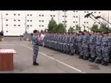 Украинский Беркут принимает присягу на верность России