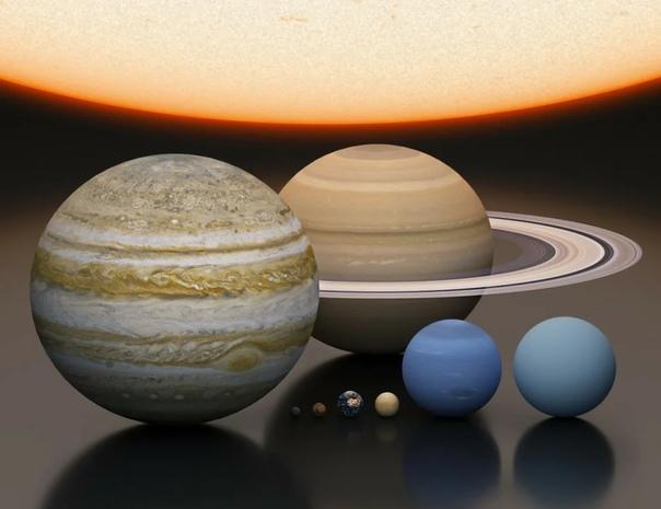 Средняя температура на планетах Солнечной системы