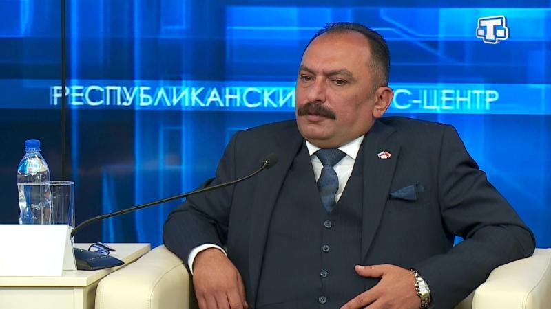 Крым посетил известный турецкий бизнесмен Яздан Кайя