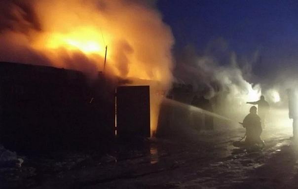Пожар 18.02.2019 на промплощадке гидроузла ГЭС
