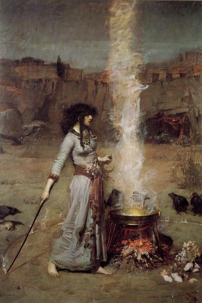 История одного шедевра. «Магический круг», Джон Уильям Уотерхаус