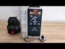 Настройка преобразователя частоты Danfoss VLT Micro Drive FC-051. Запуск тумблером