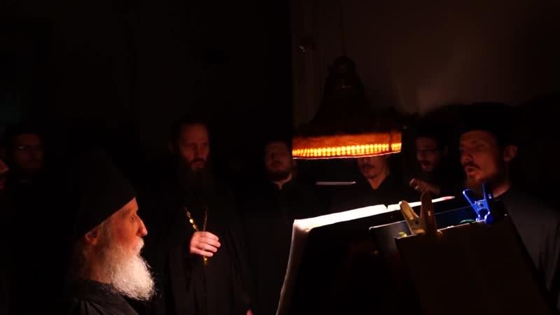 Хор братии Валаамского монастыря - Введение во храм Пресвятой Богородицы (2016)