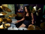 BAD WOLVES - ZOMBIE - DRUM COVER BY MEYTAL COHEN (1)