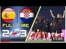Croatia vs Spain 3 2 All Goals Highlight 15 11 2018 Хорватия vs Испания