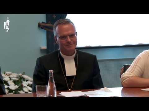 Патриарх Кирилл встретился с делегацией Евангелическо-лютеранской церкви Финляндии