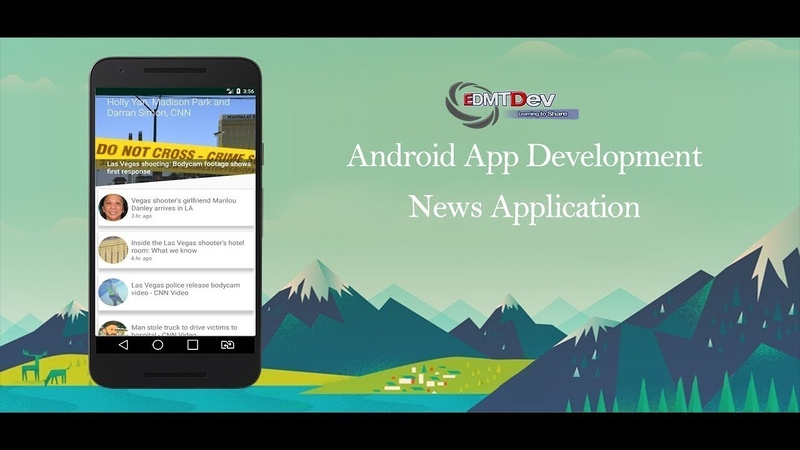 Android Studio Tutorial - News Reader Part 4 (Fix Crash News API version 2) edmt dev
