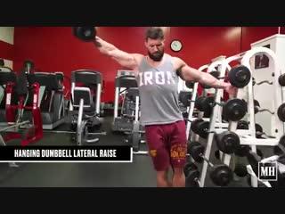 3 классных упражнения для рельефа и прокачки плеч