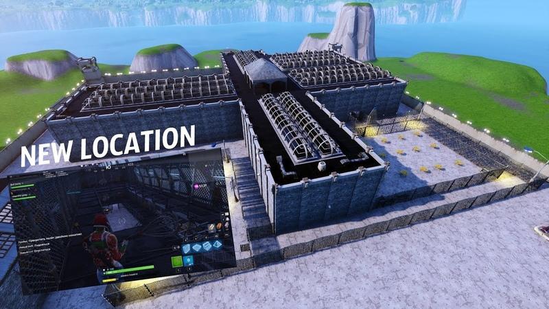 Silent Prison FortniteBlockParty - Тихая Тюрьма Новая Локация