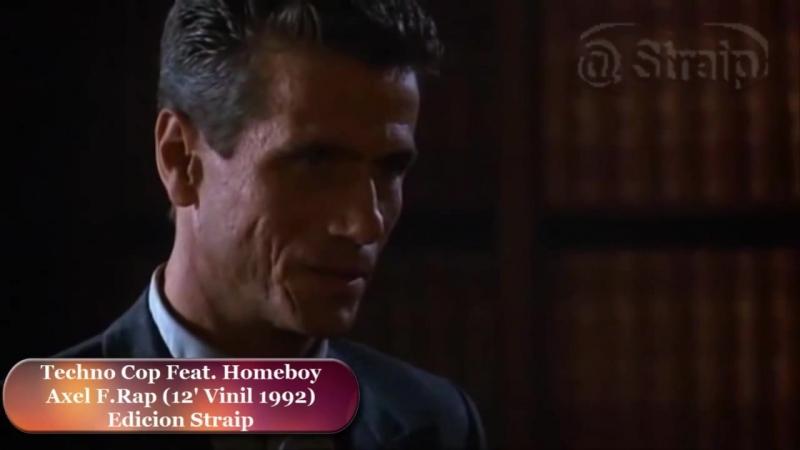 Techno Cop Feat Homeboy - Axel F. Rap (12 Vinil 1992 ( Widescreen - 16_9)