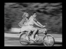 Classic honda bike moped cub commercial