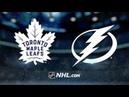 Toronto Maple Leafs vs Tampa Bay Lightning   Jan.17, 2019