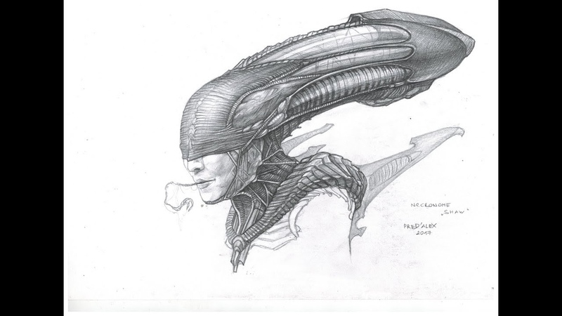 Designing the Xeno-Shaw (Dr. Shaw's Rebirth) Part 1