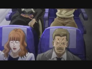 Джотаро выбрал самолёт компании Жмых airlines и разбился нахYй !!