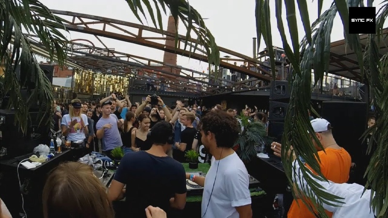 Alci x Djebali @ СИНК Fantomas Rooftop 2 (July)