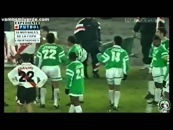 River Plate 1 (7) - (8) 0 Atlético Nacional 16-08-1995 Copa Libertadores Semifinales