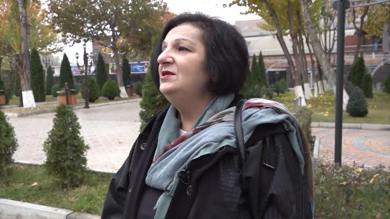 Выжившая после землетрясения в Армении