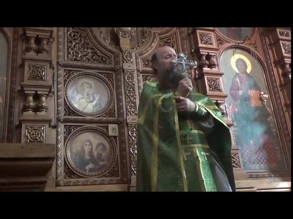 Проповедь иеромонаха Мефодия (Зинковского). Сила Христа явлена в Его кресте, который полюбили святые