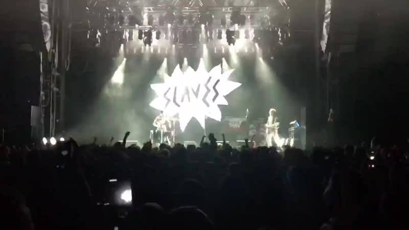 Slaves - Fuck The Hi-Hat (ГлавClub, Moscow | 15.10.2018)