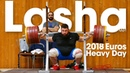 Lasha Talakhadze Heavy Training (200kg Snatch!) before 2018 European Championships