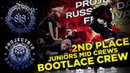 BOOTLACE CREW ✪ 2ND PLACE ✪ JUNIORS MID CREWS ✪ RDF18 ✪ Project818 Russian Dance Festival ✪