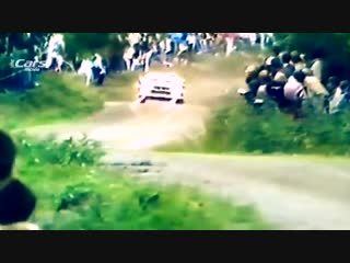 #GroupB in Finland 1000 Lakes #Rally with pure engine sounds