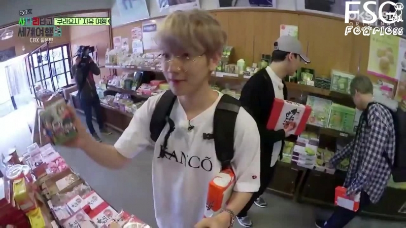 [РУС. САБ] EXO CBX @ Путешествуем по миру на лестнице ЕХО, Эпизод 33 Travel the world on EXO's ladder, Episode 33