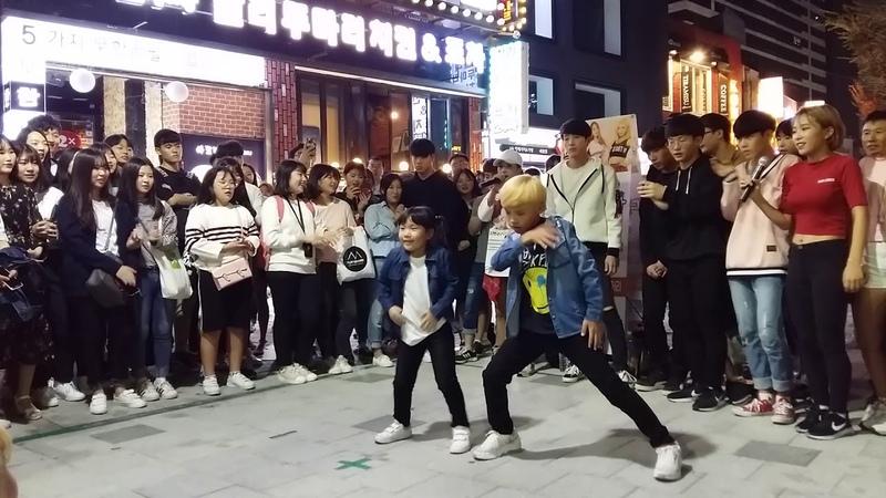 2017 10 8 고싶은거리 대 로마포차앞 스트 소연이 성댄스팀 Diana by