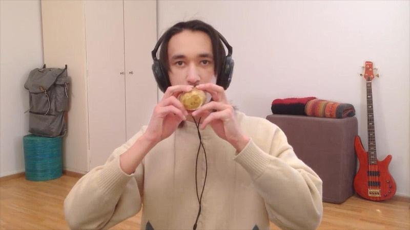 Сделал флейту из картошки! Фин сыграл невероятный кавер на овоще