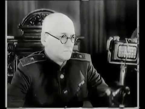 Кинохроника зверств гитлеровского фашизма. Суд в Харькове - декабрь 1945 года. (фрагмент)