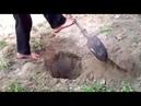 Невероятное видео! Безрукий человек все делает ногами