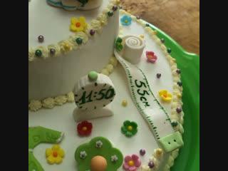 Первый тортик Моей Эльмирочки