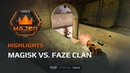 Highlights: Magisk vs FaZe Clan, FACEIT Major: London 2018 - New Champions Stage