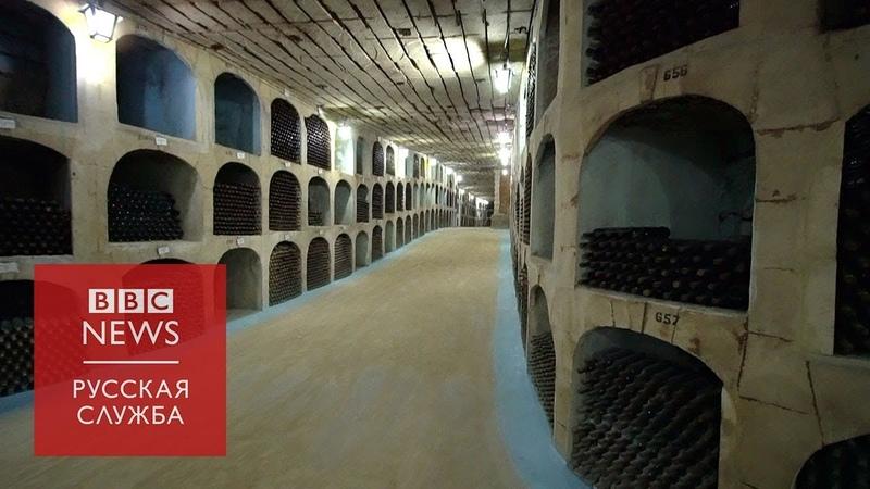 Крупнейшее хранилище вина в мире что скрывают тайные комнаты погреба в Молдове