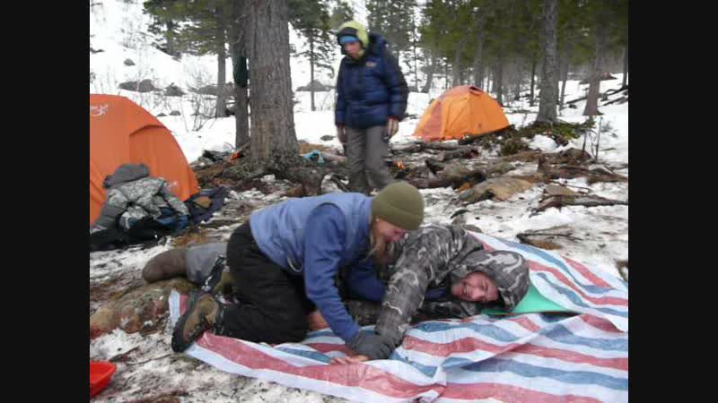 Пособие по эвакуации товарища для пока еще не опытных альпинистов))